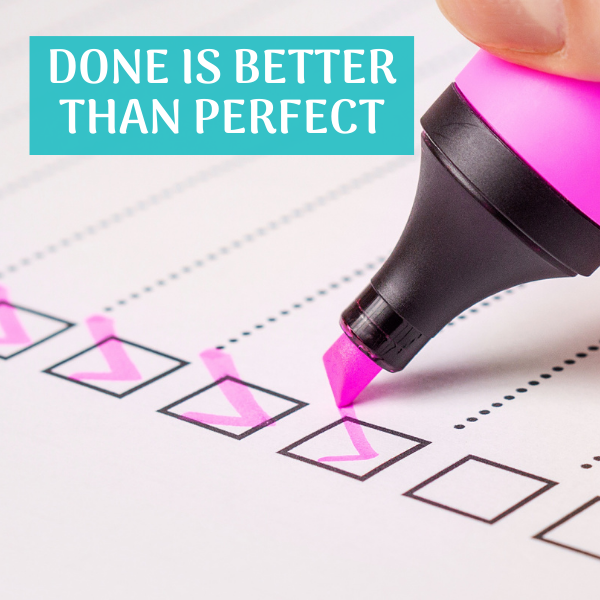 Are You Letting Perfection Get In The Way Of Your Productivity?